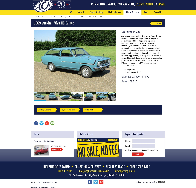Classic Car Auctions Uk
