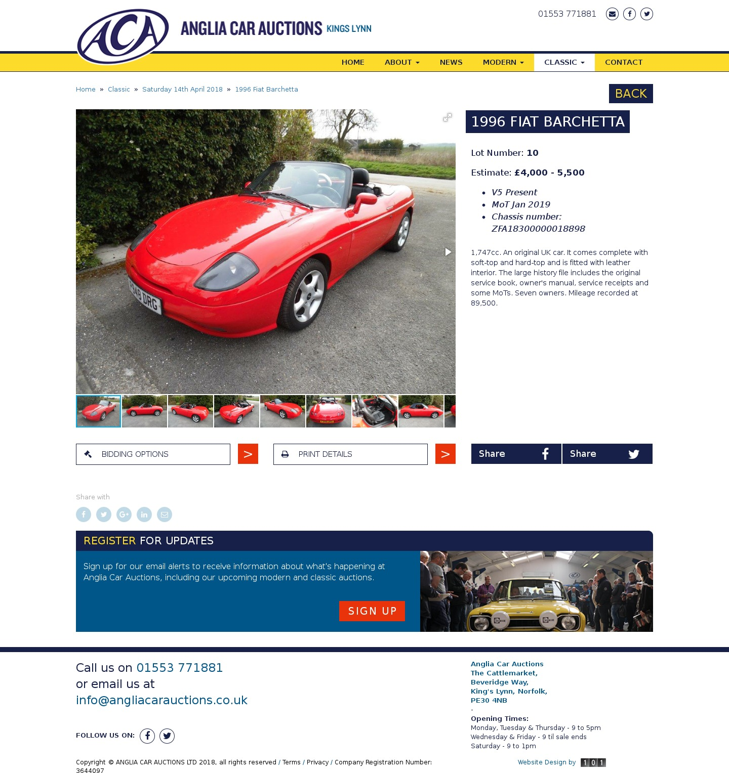Car Auction Results Uk