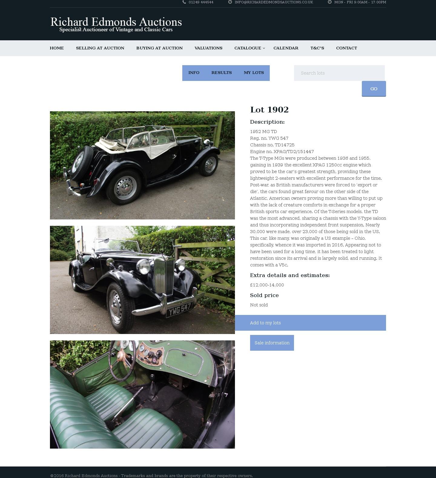 Glenmarch Auctioncars