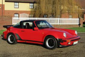 1989 Porsche 911 Turbo Targa