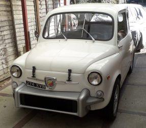 1962 Abarth Fiat 850