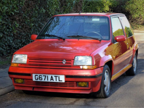1989 Renault 5 GT Turbo