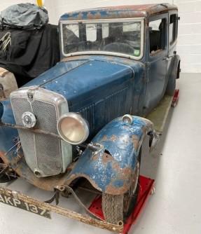 c. 1934 Morris Ten Four