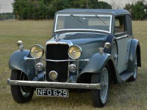 1935 Alvis Silver Eagle