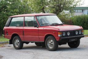 c. 1984 Land Rover Range Rover