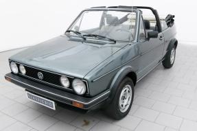 1984 Volkswagen Golf GLi Cabriolet