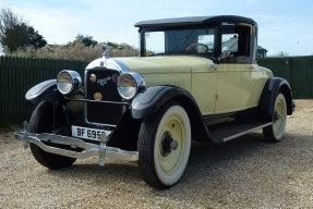 1927 Hupmobile Series E