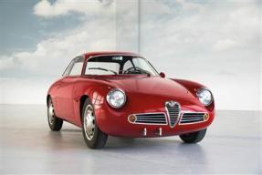 1961 Alfa Romeo Giulietta SZ