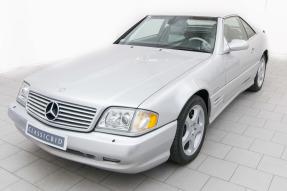 2002 Mercedes-Benz SL 500