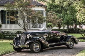 1936 Auburn Eight Supercharged Speedster