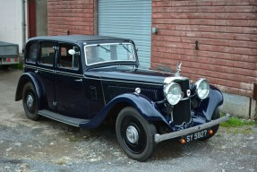 1936 Alvis Silver Eagle