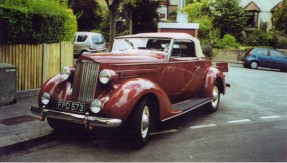 1937 Packard Model 115