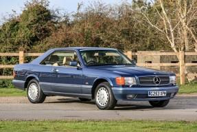 1989 Mercedes-Benz 420 SEC