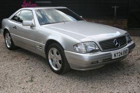 1996 Mercedes-Benz SL 600
