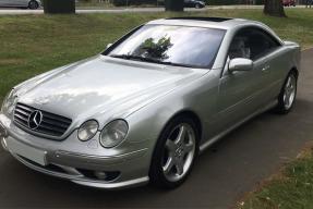 2001 Mercedes-Benz CL55 AMG