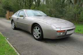 1988 Porsche 944 Turbo S Silver Rose