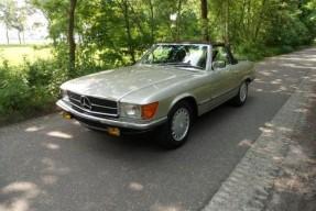 1986 Mercedes-Benz 500 SL