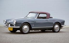 1958 Alfa Romeo Giulietta Spider
