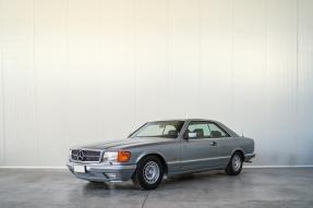 1986 Mercedes-Benz 380 SEC