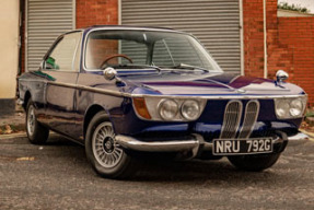 1968 BMW 2000 CSA