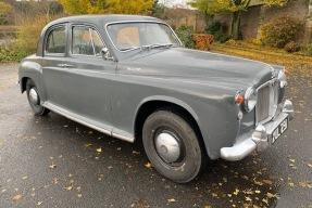 1959 Rover P4