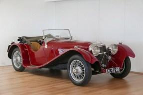 1936 SS Jaguar 100