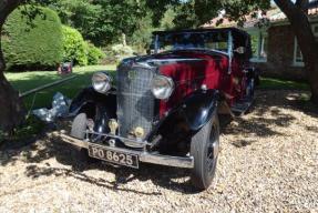 1933 Vauxhall DX