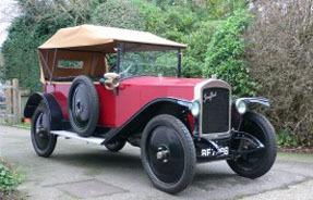 1921 Jouffret Four Seater Tourer
