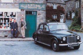 1952 Rover P4