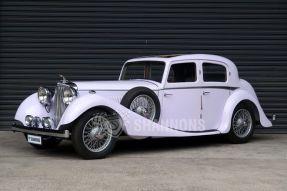 1936 SS Jaguar 2.5 litre