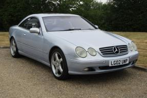 2002 Mercedes-Benz CL 500