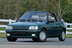 1993 Peugeot 205 Roland Garros Cabriolet