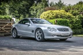 2002 Mercedes-Benz 500 SL
