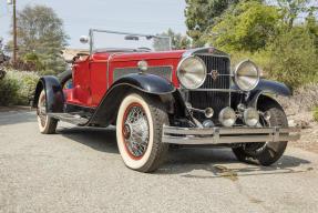 c. 1930 LaSalle V-16 Speedster Custom