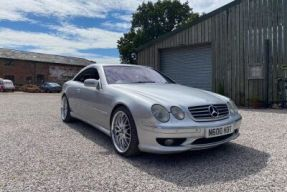2001 Mercedes-Benz CL 600