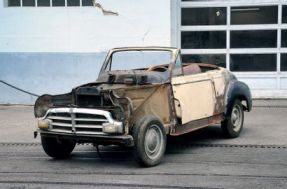 1952 Peugeot 203 Cabriolet
