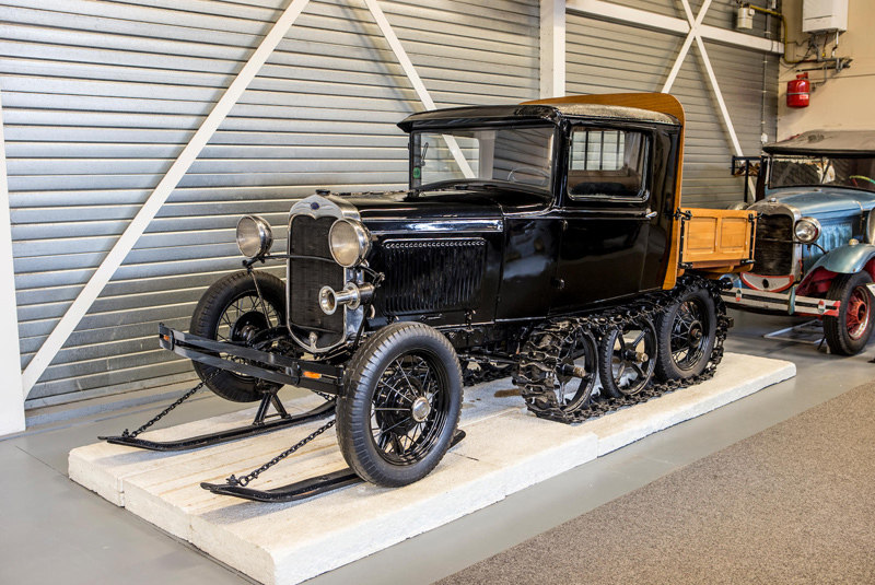 Ford Model A Snowmobile