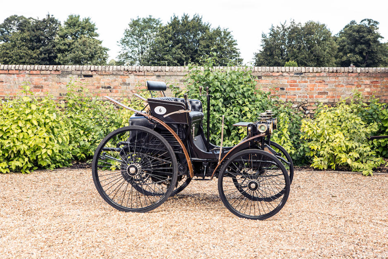 Peugeot 2½hp Twin-cylinder Two-seater